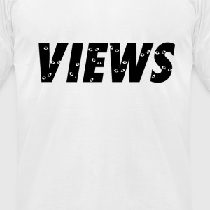 Views from the 6ix T-Shirts - Men's T-Shirt by American Apparel