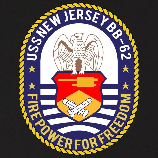 USS NEW JERSEY 1989-90 CRUISE HOODIE