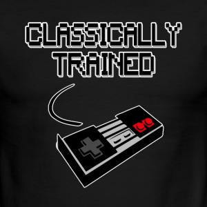 Classically Trained Funny Gamer shirt - Men's Ringer T-Shirt