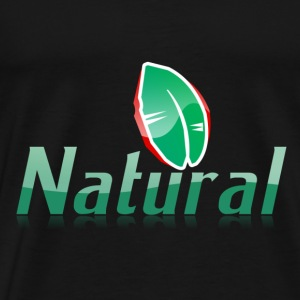 Natural Living - Men's Premium T-Shirt