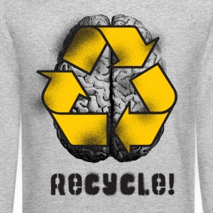 RECYCLE Long Sleeve Shirts - Crewneck Sweatshirt