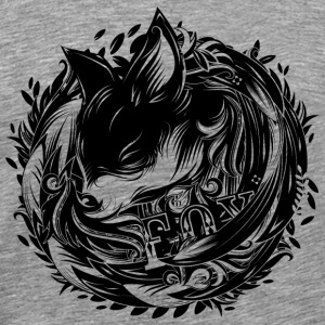 Fox at the Burrow T-Shirts - Men's Premium T-Shirt