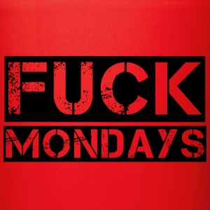 Fuck Mondays Mugs & Drinkware - Full Color Mug
