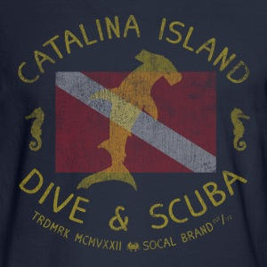 Catalina Island Dive and Scuba T-shirt - Men's Long Sleeve T-Shirt