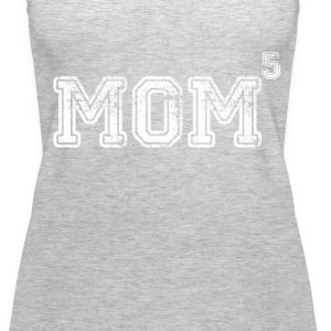 Mom Of 5 Tanks - Women's Premium Tank Top