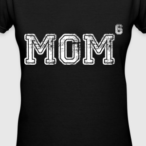 Mom Of 6 Women's T-Shirts - Women's V-Neck T-Shirt