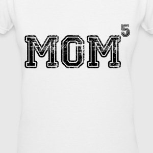 Mom Of 5 Women's T-Shirts - Women's V-Neck T-Shirt