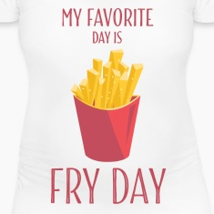 Funny T Shirts Fry Day With French Fries