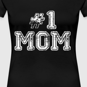 Number One Mom Women's T-Shirts - Women's Premium T-Shirt