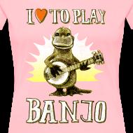 Design ~ I love to play banjo