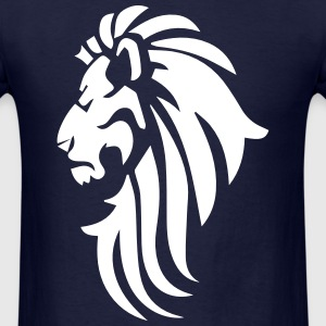 lion logo T-Shirts - Men's T-Shirt