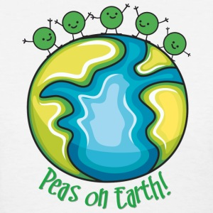 Peas on Earth Women's T-Shirts - Women's T-Shirt