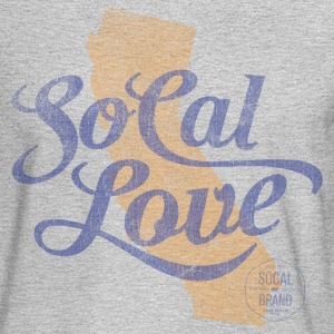 SoCal Love Long Sleeve T-shirt - Men's Long Sleeve T-Shirt