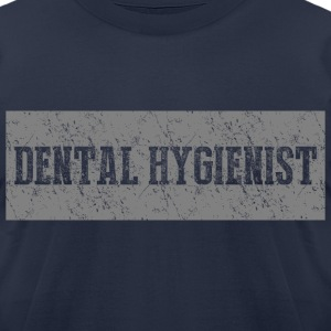 Dental Hygienist T-shirt - Men's T-Shirt by American Apparel
