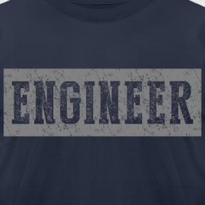 Engineer T-shirt - Men's T-Shirt by American Apparel