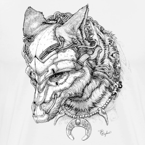 "Men's Premium T shirt of ""Coyote First Angry"" - Men's Premium T-Shirt"