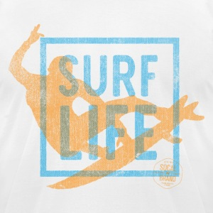 Surf Life T-shirt - Men's T-Shirt by American Apparel