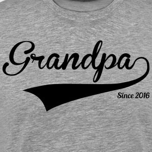 Grandpa Since 2016 T-Shirts - Men's Premium T-Shirt