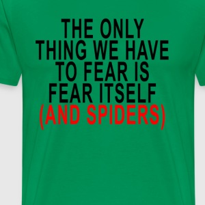 fear_and_spiders - Men's Premium T-Shirt