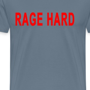 rage_hard - Men's Premium T-Shirt