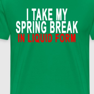 spring_break__liquid_form - Men's Premium T-Shirt