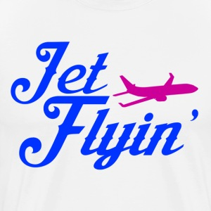 Jet Flyin - Men's Premium T-Shirt
