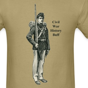 Civil War Soldier History Buff - Men's T-Shirt