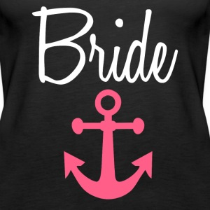 Bride Anchor women's shirt - Women's Premium Tank Top