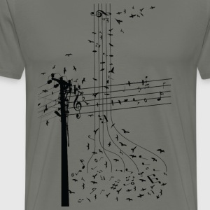 morning song birds  ss T-Shirts - Men's Premium T-Shirt