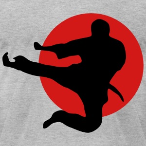 Kung Fu T-Shirts - Men's T-Shirt by American Apparel