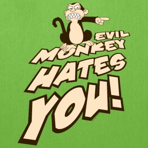 Family Guy Evil Monkey Hates You! - Tote Bag