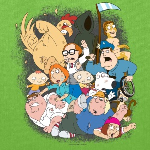 Family Guy Characters - Tote Bag