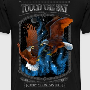 TOUCH THE SKY - ROCKY MOUNTAIN HIGH - Men's Premium T-Shirt