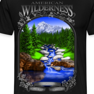 AMERICAN WILDERNESS - Men's Premium T-Shirt