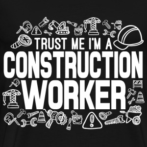 Construction Worker T-Shirts - Men's Premium T-Shirt