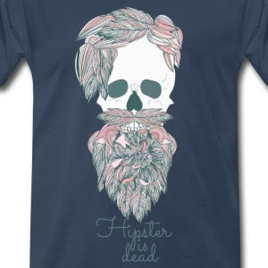 Hipster is dead T-Shirts - Men's Premium T-Shirt