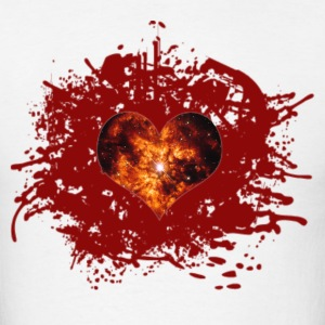 supernova heart T-Shirts - Men's T-Shirt