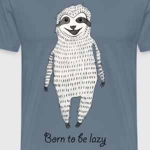 Born to be lazy T-Shirts - Men's Premium T-Shirt