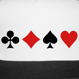Playing Card Suits Sportswear - Trucker Cap