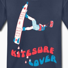 Kitesurf Lover Kids' Shirts
