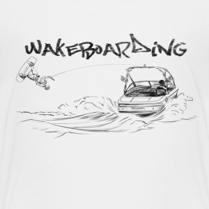 wakeboarding Baby & Toddler Shirts - Toddler Premium T-Shirt