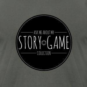 Story Game Collection - Men's T-Shirt by American Apparel