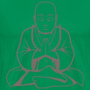 Yoga Buddha Meditate - Men's Premium T-Shirt