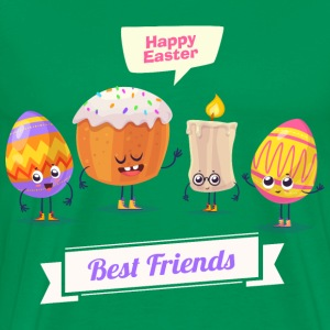 Happy Easter best friends - Men's Premium T-Shirt