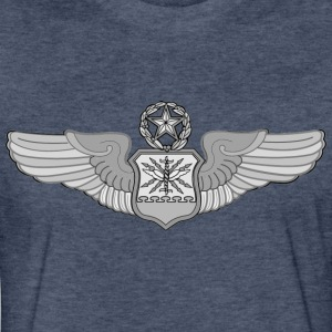 MASTER NAVIGATOR WINGS - Fitted Cotton/Poly T-Shirt by Next Level