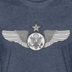 SENIOR ENLISTED AIRCREW WINGS - Fitted Cotton/Poly T-Shirt by Next Level