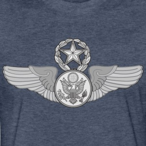 MASTER ENLISTED AIRCREW WINGS - Fitted Cotton/Poly T-Shirt by Next Level