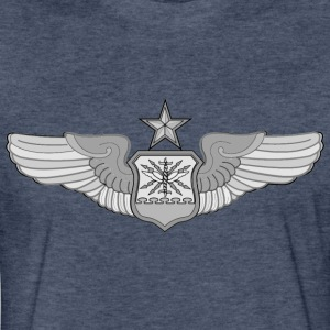 SENIOR NAVIGATOR WINGS - Fitted Cotton/Poly T-Shirt by Next Level
