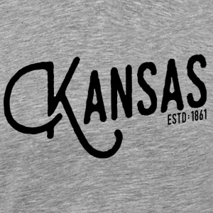 Kansas - Men's Premium T-Shirt