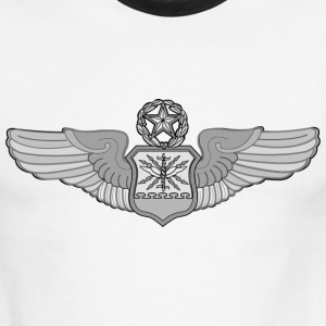 MASTER NAVIGATOR WINGS - Men's Ringer T-Shirt